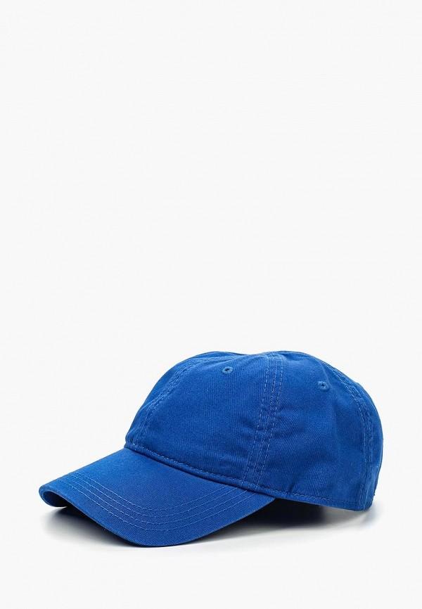 мужская бейсболка lacoste, синяя