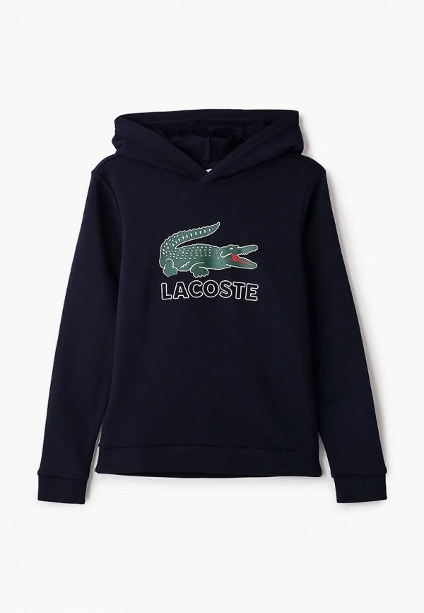 худи lacoste для мальчика, синие