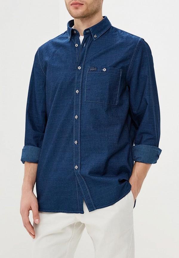 Рубашка джинсовая Lacoste Lacoste LA038EMAJRL5 рубашка мужская lacoste ch0687dhki1 65 15