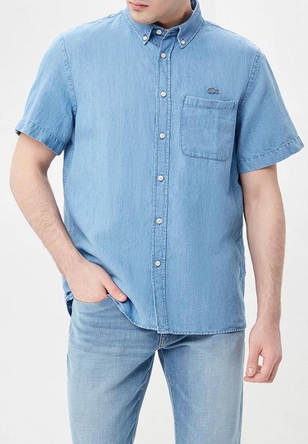 Рубашка джинсовая Lacoste Lacoste LA038EMAJRL7 рубашка мужская lacoste ch0687dhki1 65 15