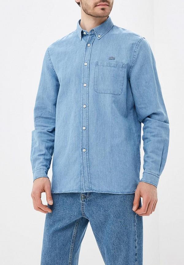 Рубашка джинсовая Lacoste Lacoste LA038EMAJRL8 рубашка lacoste ch5018pq5t