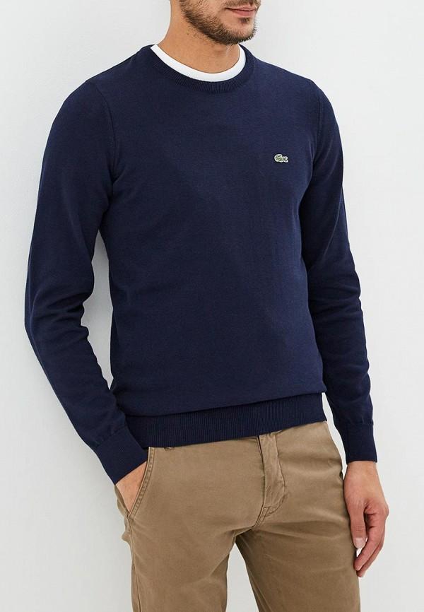 мужской джемпер lacoste, синий