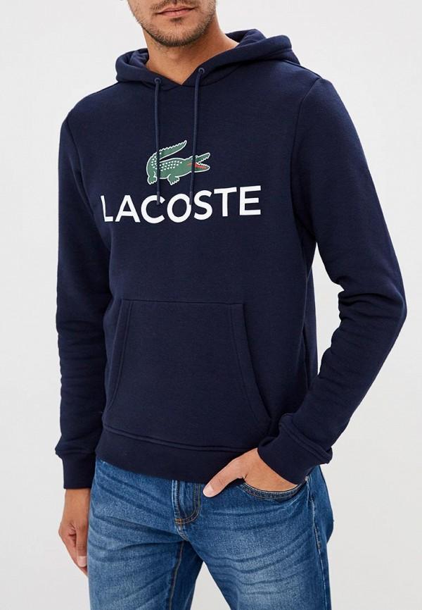 Худи Lacoste Lacoste LA038EMCRMW3 худи print bar гладкое море