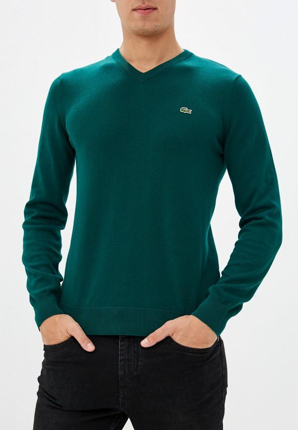 мужской пуловер lacoste, зеленый