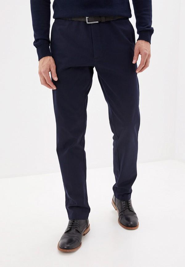 Фото 7 - мужские брюки Lacoste синего цвета