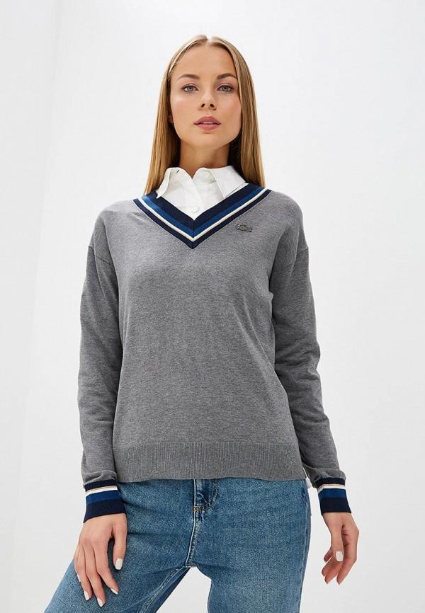 Пуловер Lacoste Lacoste LA038EWCRND3 джемпер lacoste lacoste la038emvvo68