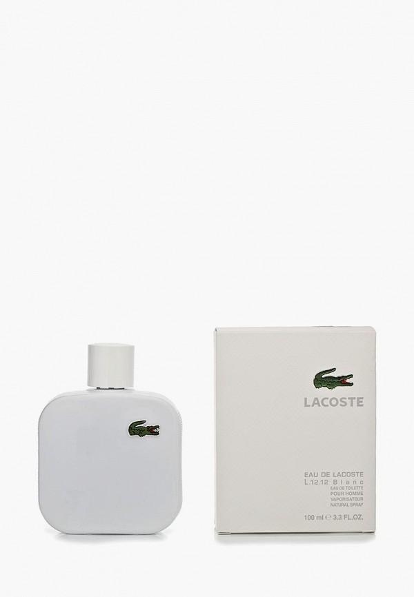Купить Туалетная вода Lacoste, Eau De 100 мл blanc, la038lmef166, белый, Осень-зима 2018/2019
