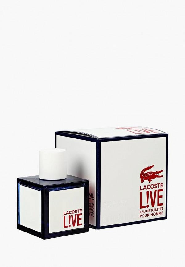 Купить Туалетная вода Lacoste, Live 60 мл, LA038LMGOJ65, Осень-зима 2018/2019