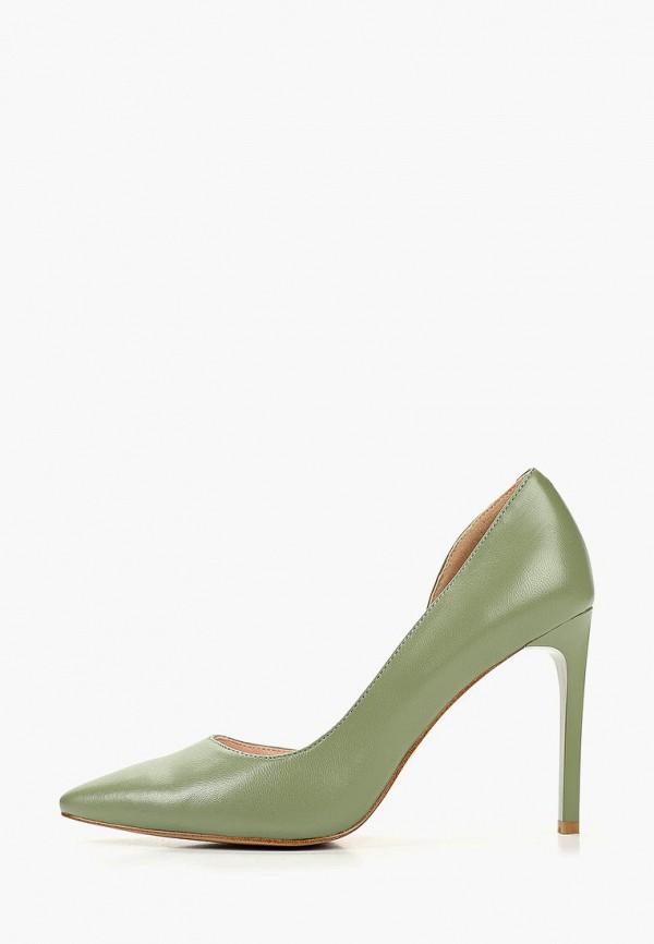 женские туфли la grandezza, зеленые