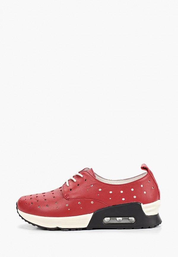 женские кроссовки la grandezza, красные