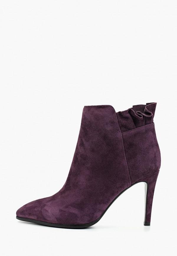 женские ботильоны la grandezza, фиолетовые