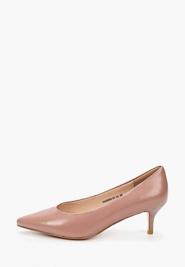 женские туфли la grandezza, розовые