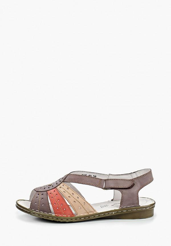 женские сандалии la grandezza, серые