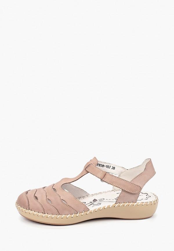 женские сандалии la grandezza, бежевые