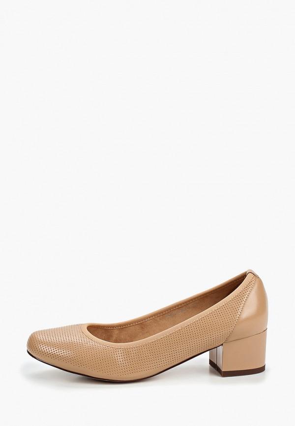 женские туфли la grandezza, бежевые