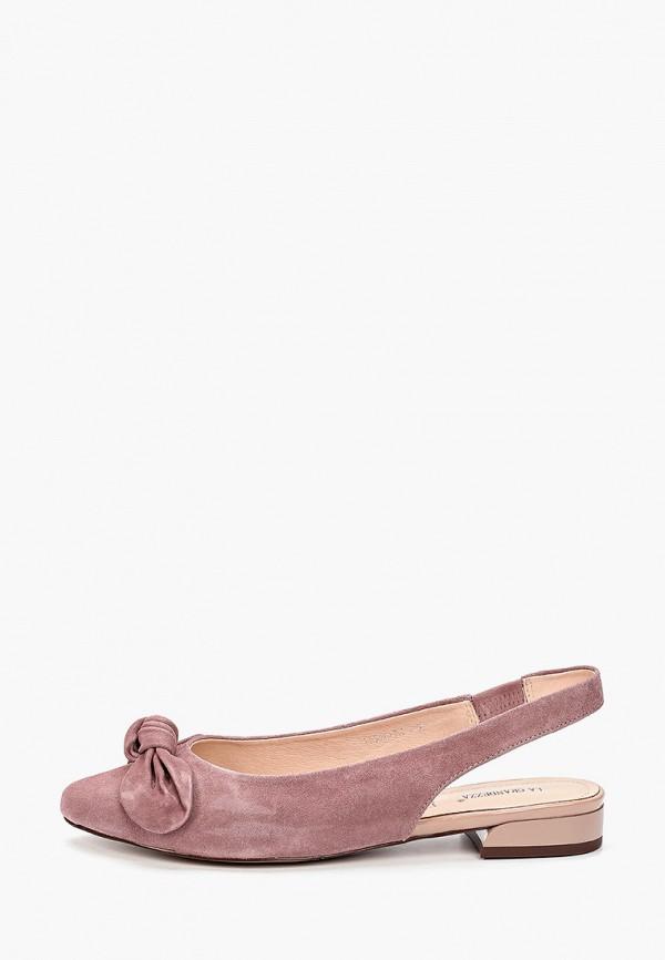 женские туфли la grandezza, фиолетовые