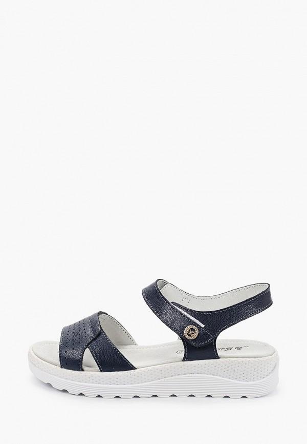 женские сандалии la grandezza, синие