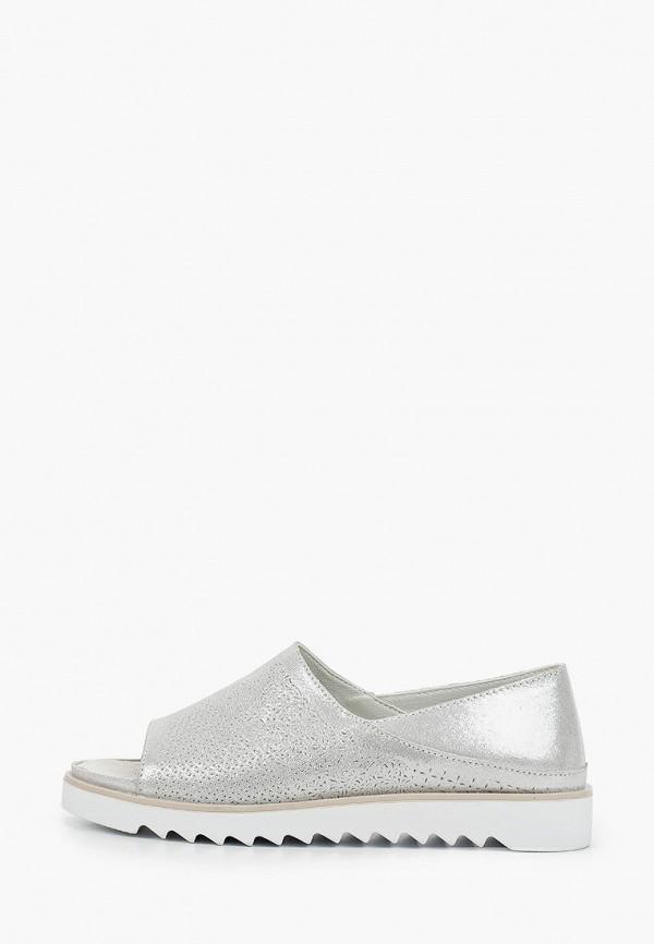 женские туфли la grandezza, серебряные