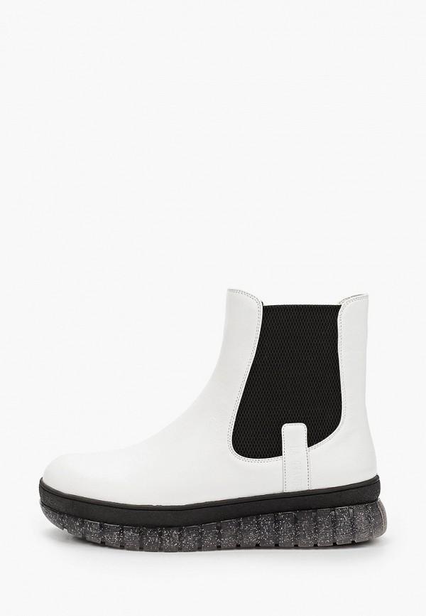 женские ботинки la grandezza, белые