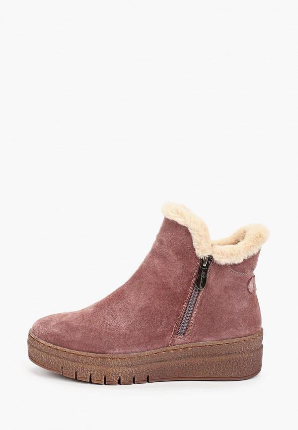женские ботинки la grandezza, розовые