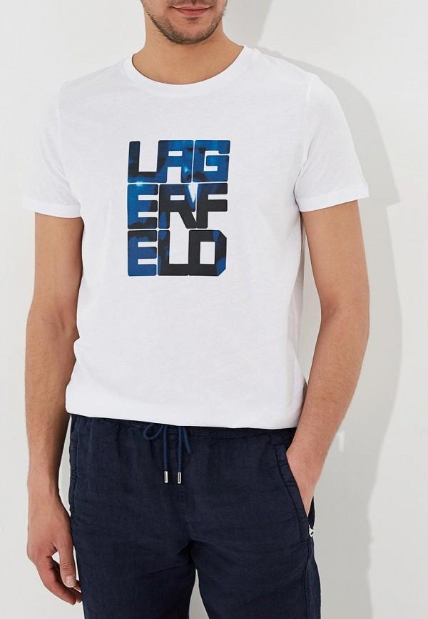 Футболка Lagerfeld Lagerfeld LA053EMYGV77 джемпер lagerfeld 656005 672399 941