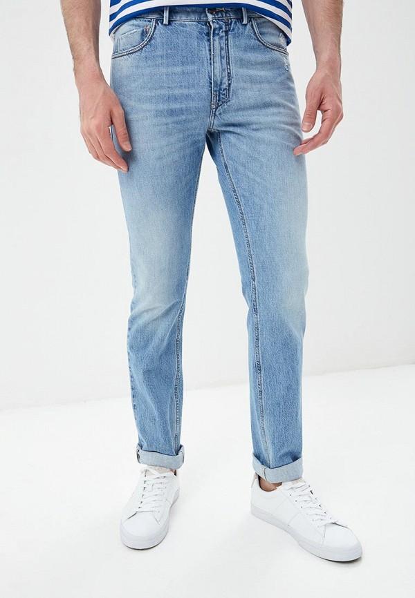 мужские прямые джинсы lab. pal zileri, голубые
