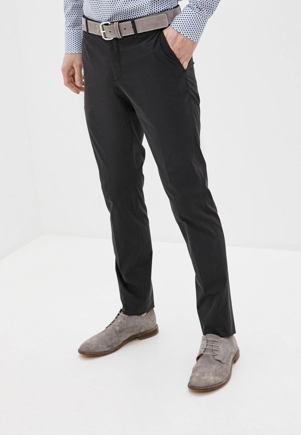 мужские повседневные брюки lab. pal zileri, черные