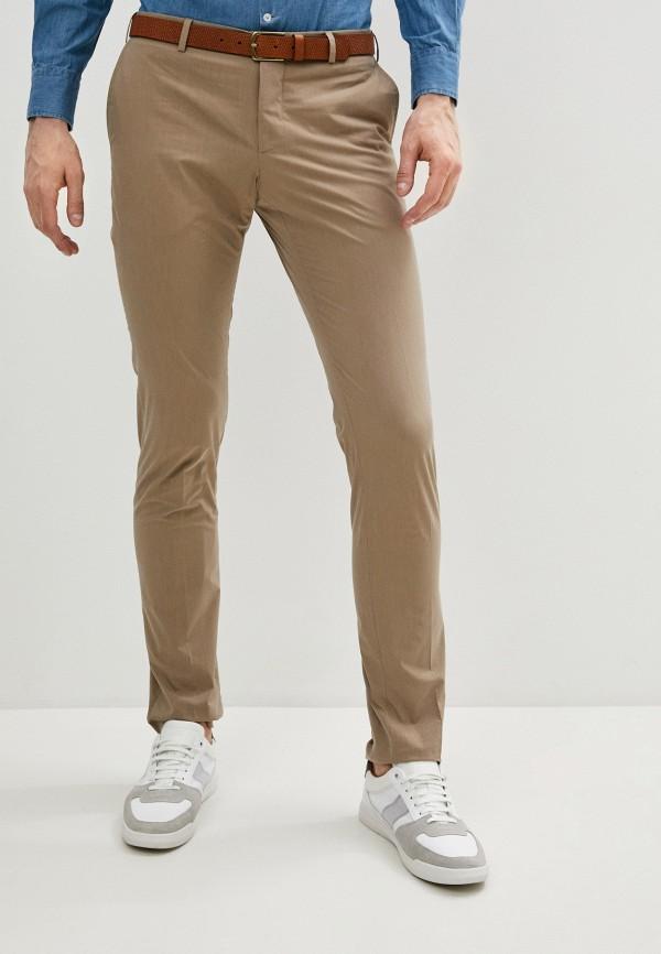 мужские классические брюки lab. pal zileri, бежевые