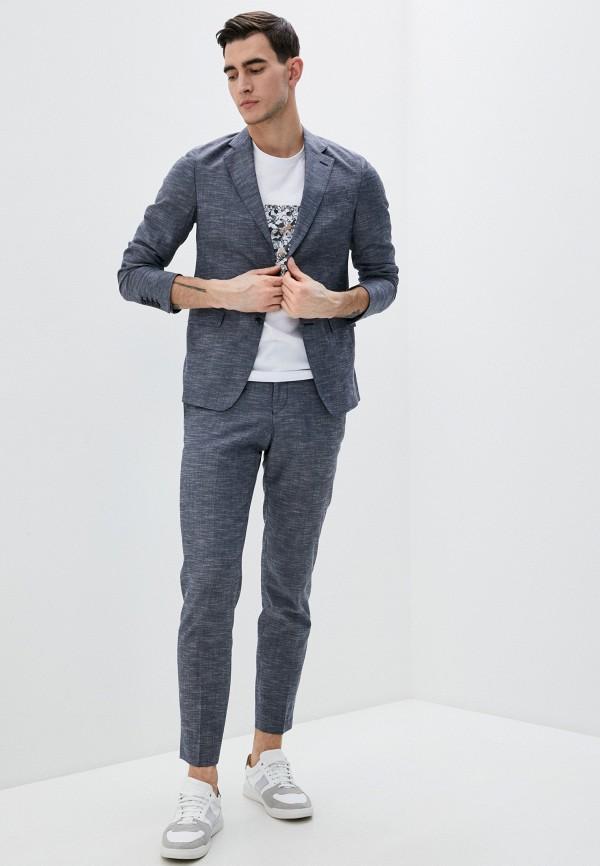 мужской классические костюм lab. pal zileri, синий