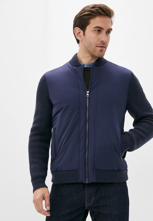 мужская куртка lab. pal zileri, синяя