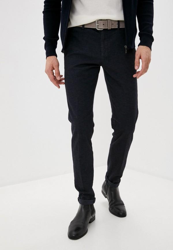 мужские повседневные брюки lab. pal zileri, синие