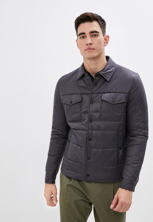 мужская куртка lab. pal zileri, серая