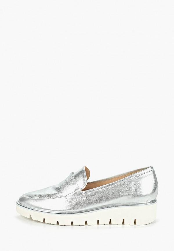 женские туфли la coleccion, серебряные