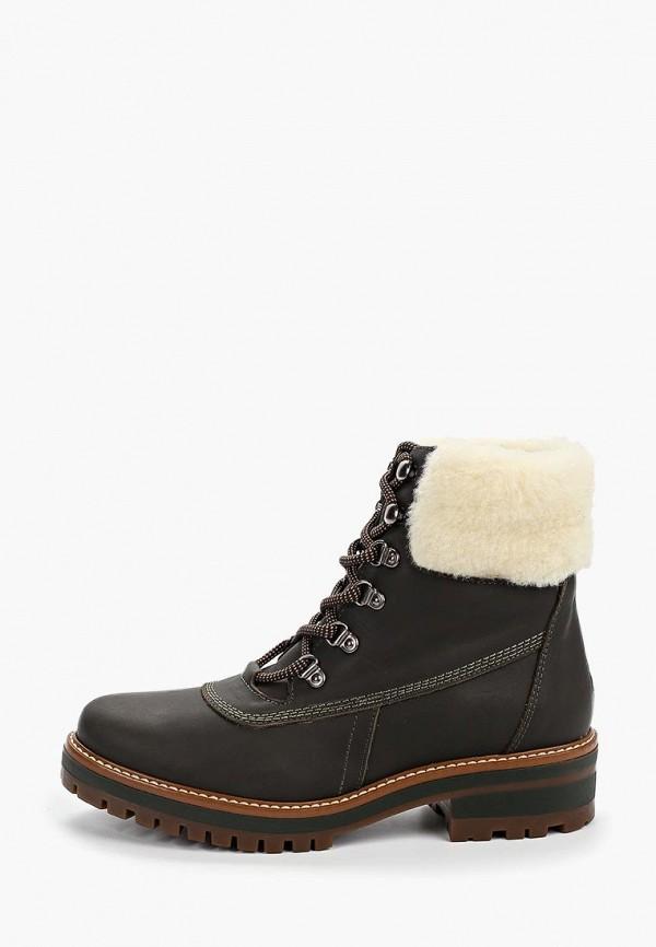 женские ботинки la coleccion, хаки