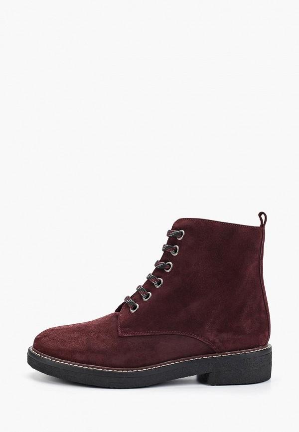 женские ботинки la coleccion, бордовые