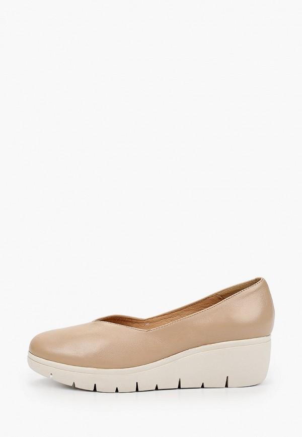 женские туфли la coleccion, бежевые