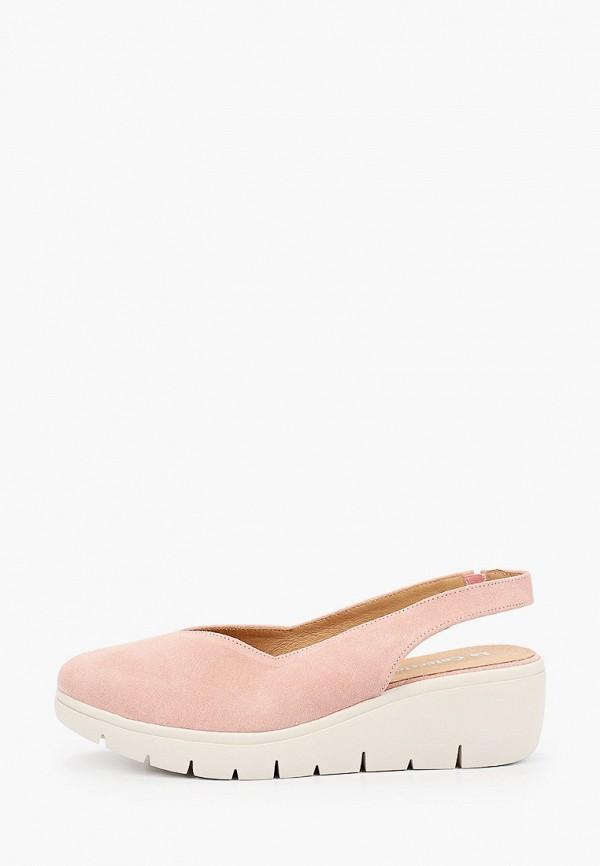женские туфли la coleccion, розовые