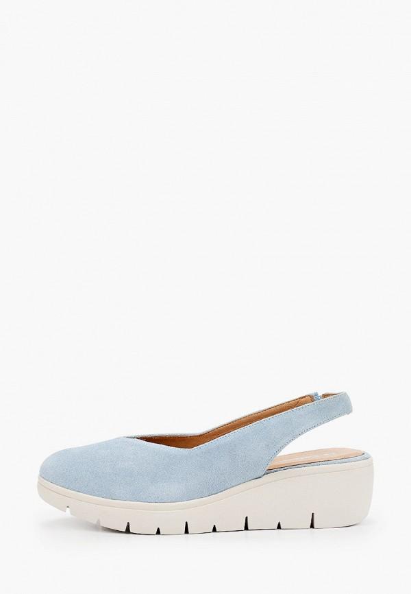 женские туфли la coleccion, голубые