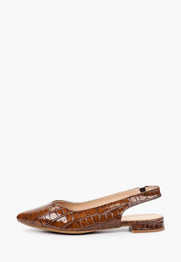 женские туфли la coleccion, коричневые