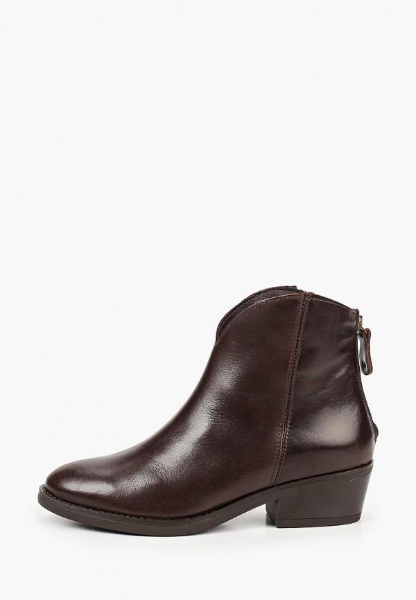 женские ботинки la coleccion, коричневые