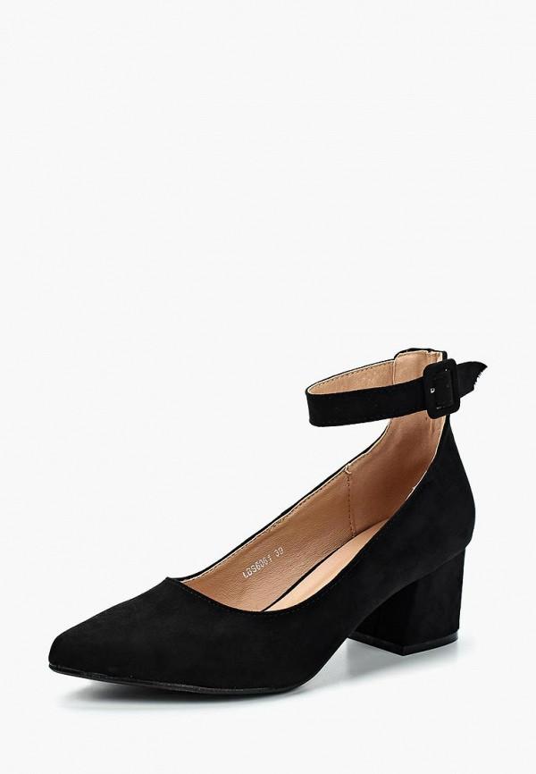 Фото 2 - женские туфли La Bottine Souriante черного цвета