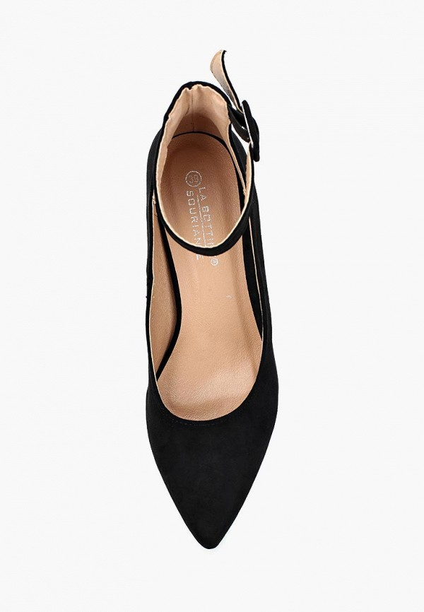 Фото 4 - женские туфли La Bottine Souriante черного цвета