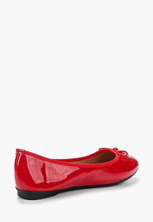 Фото 2 - женские балетки La Bottine Souriante красного цвета