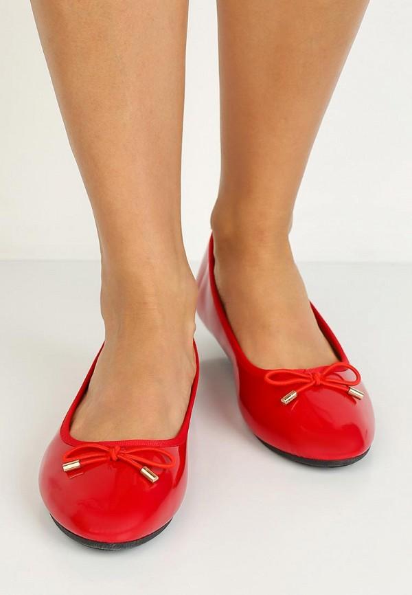 Фото 5 - женские балетки La Bottine Souriante красного цвета