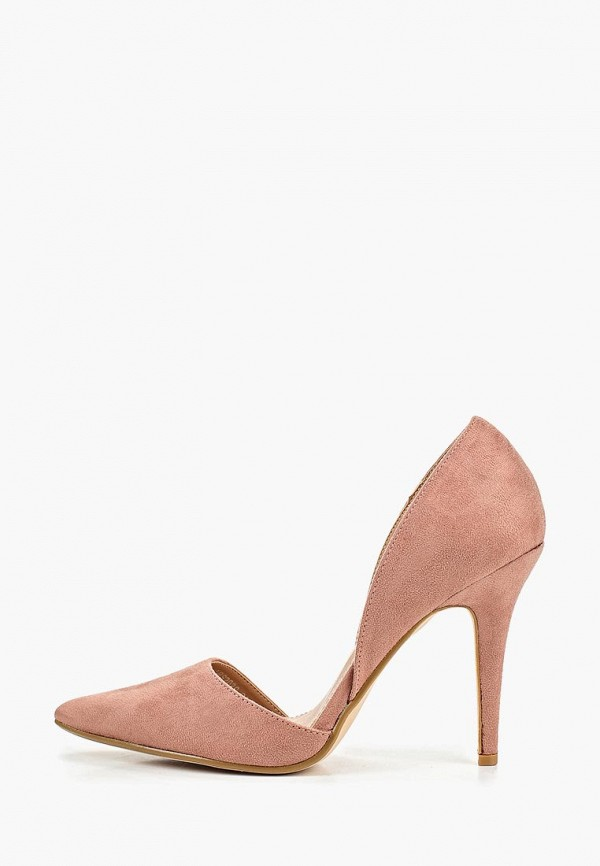 женские туфли la bottine souriante, розовые