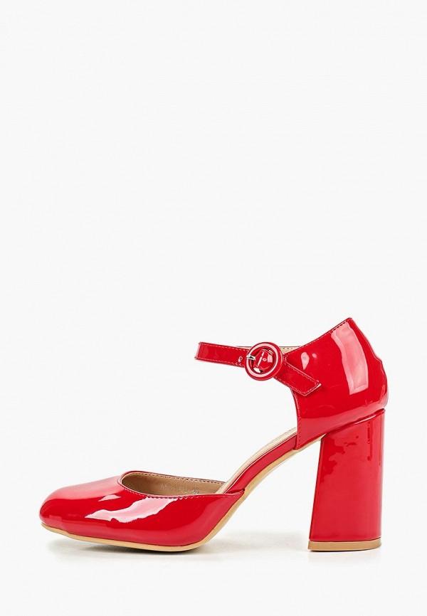Туфли La Bottine Souriante, Красный