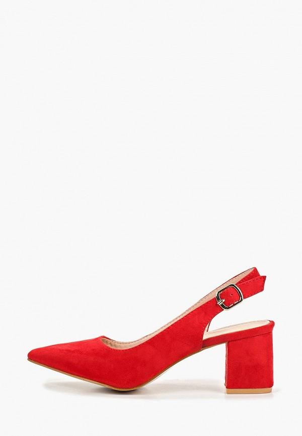 женские туфли la bottine souriante, красные