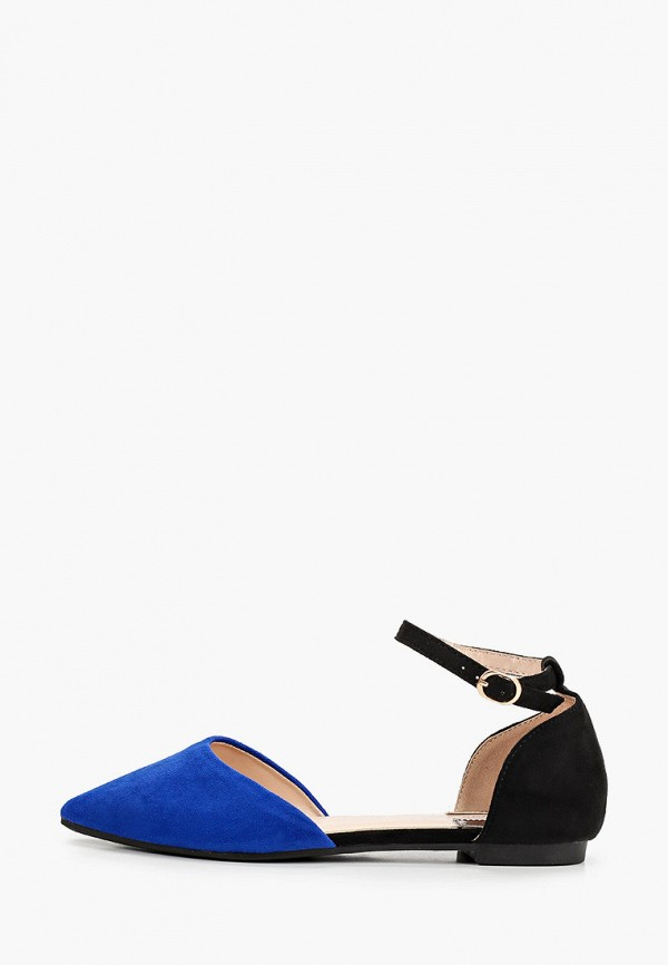 женские туфли la bottine souriante, синие