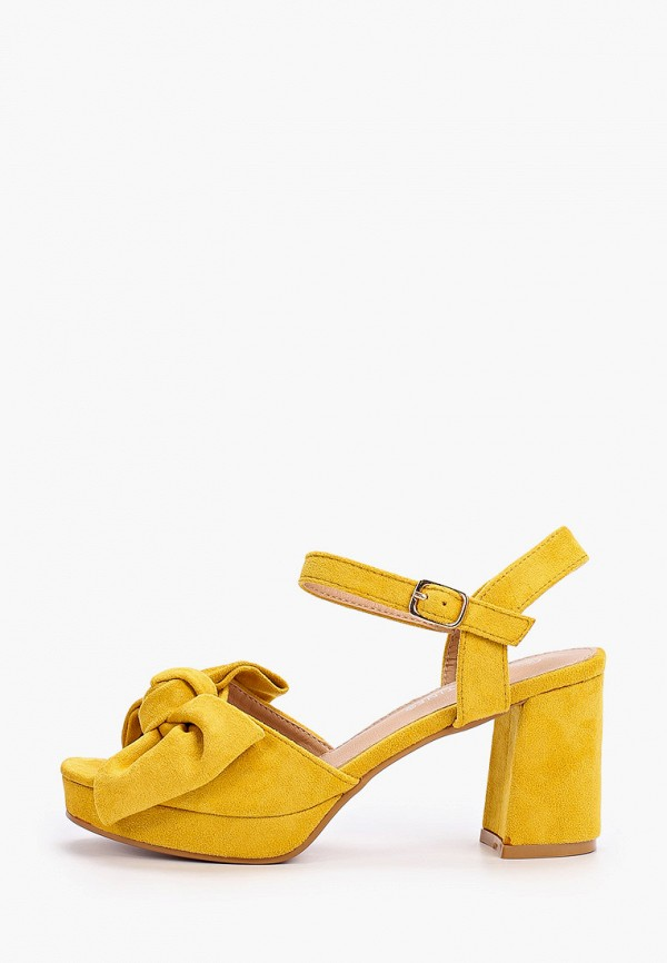 женские босоножки la bottine souriante, желтые
