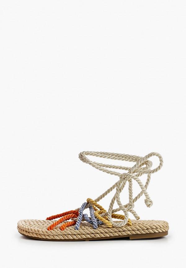 женские сандалии la bottine souriante, разноцветные